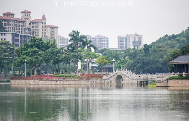 [旅行柚子君]广东佛山也有一个西湖,位于西樵山下,到南海旅游不容错过