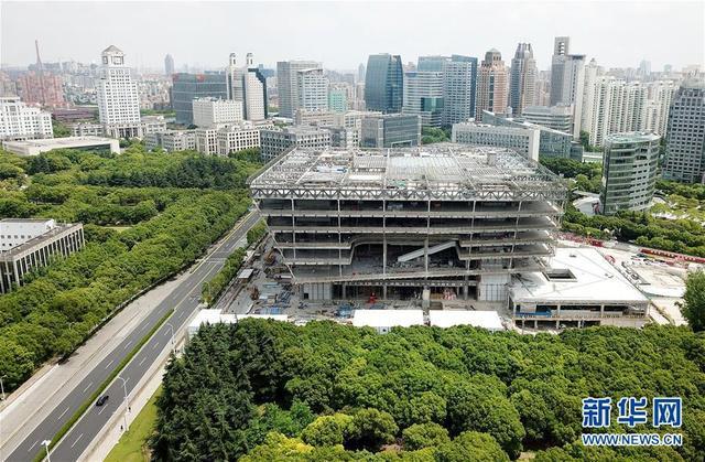 中国吉林网上海图书馆东馆计划年内竣工