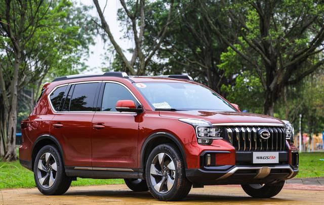 #小蜜疯汽车#传祺大5座SUV上市,15.5万就能买高功率2.0T+爱信6AT,这波稳了?
