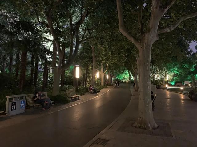 [上观新闻]夜游公园模式重启!全区23家公园即日起延长开放时间