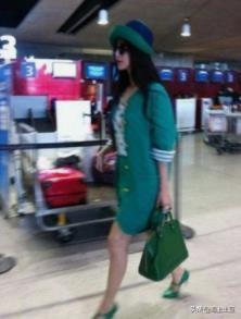 时尚探究社范冰冰为了红也是拼了 绿帽戴了一顶顶 网友道:给她逛街压力真大