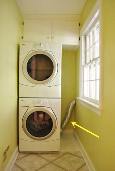新家大变样:阳台放洗衣机,排水管露出一大截,还是老公聪明,现在多个储物间