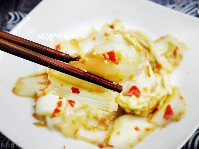 做醋溜白菜,学会2次放醋,白菜脆嫩酸爽又入味,可惜很多人不懂