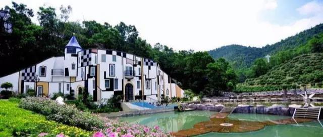 「趣旅游」东莞龙凤山庄,这里有甜蜜浪漫,梦幻伊甸园,古堡倩影,童话奇缘