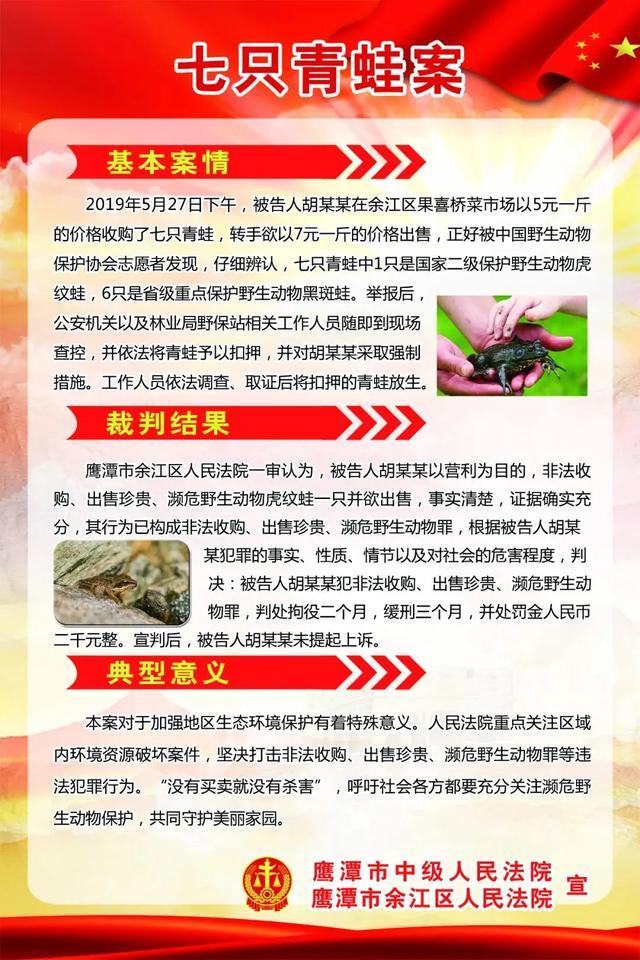 江西日报警示!鹰潭公布4起环境资源犯罪典型案例