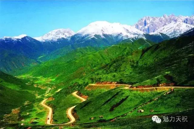 旅行柚子君■带你看瑰丽奇绝的祁连山