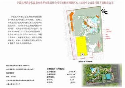 """山楂味的诗■确定了!杭州湾的这个位置即将改成""""水上运动中心"""""""