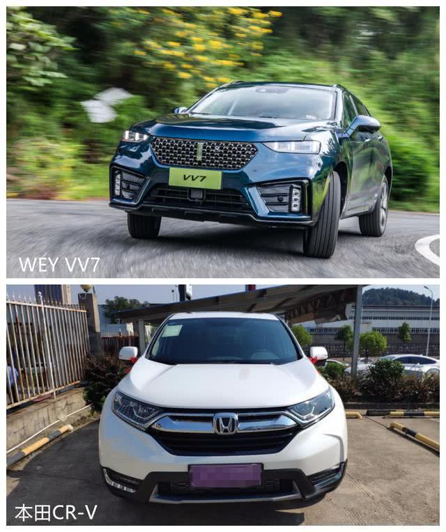 小蜜疯汽车:WEY VV7与本田CR-V百公里制动测评,网友:差距这么大?