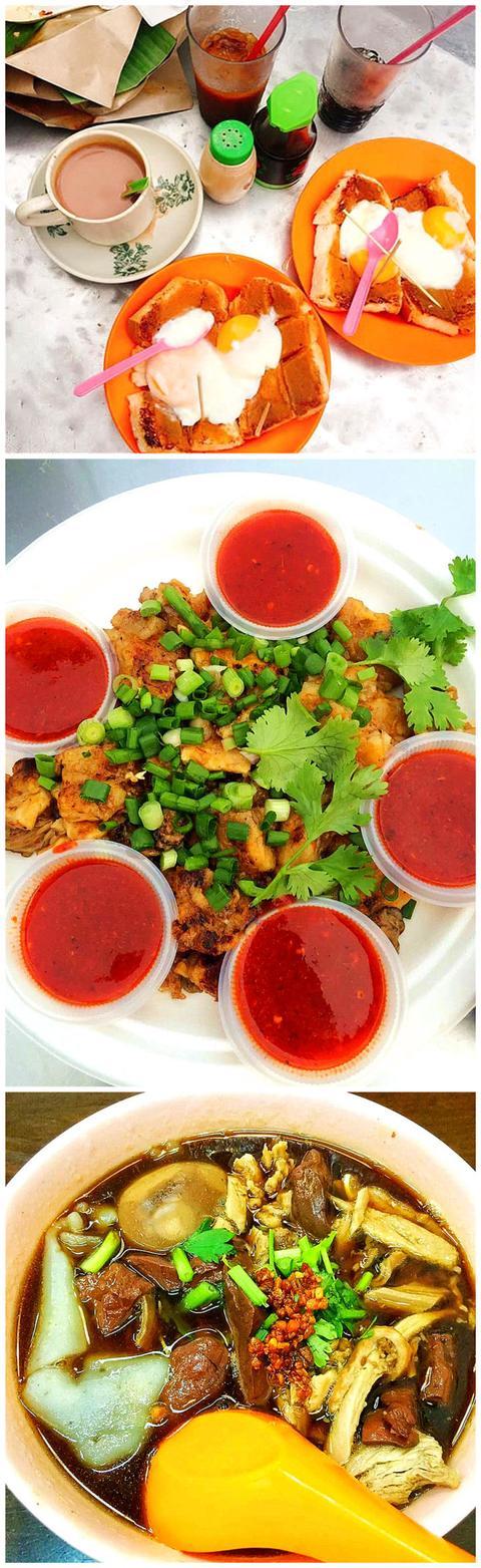 【世界那么大】马来西亚的槟城——街头的茶室美食