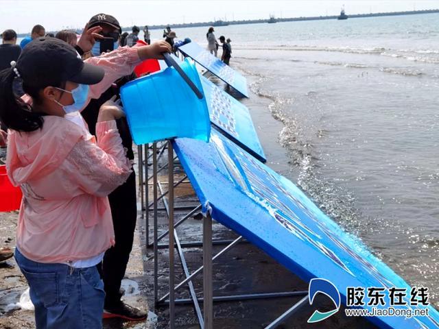胶东在线海阳市海洋放鱼节暨世界海洋日宣传活动举行
