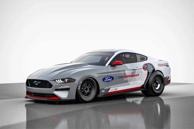车与生活■福特将推纯电动版Mustang Cobra Jet,或将年内亮相