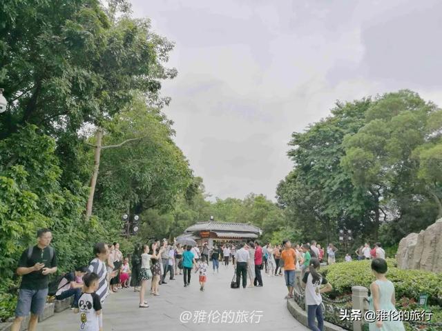 【玩乐足迹】旅行广州,羊城八景之一越秀公园为何火了2千多年?门票还免费!