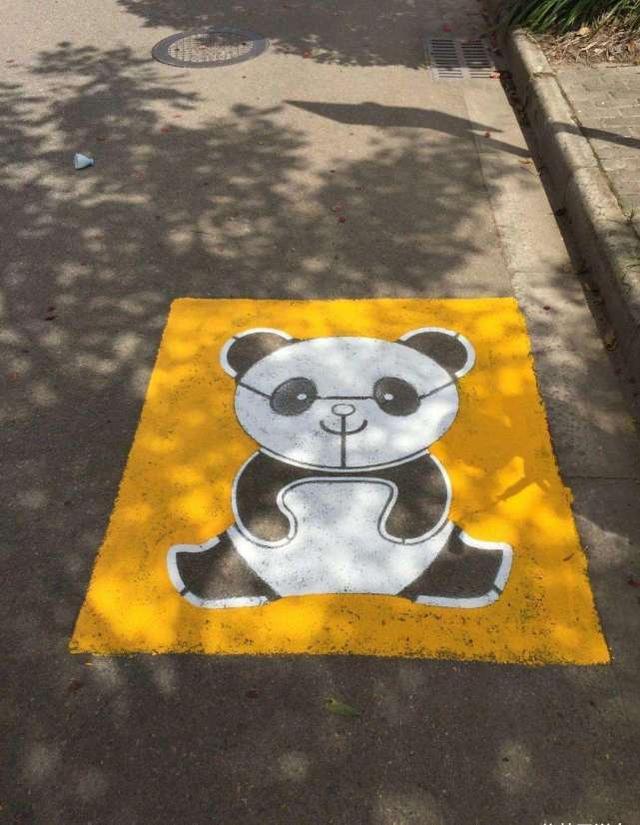 """阿虎汽车■""""熊猫停车位""""是啥意思,交警:搞不懂这个车位,罚款200"""
