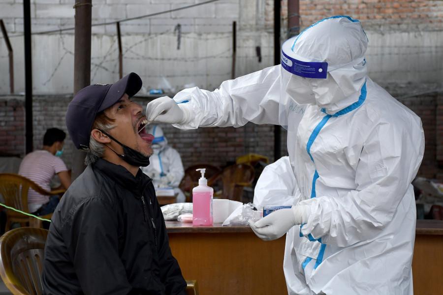 央视新闻客户端尼泊尔新增554例新冠肺炎确诊病例 累计达12309例