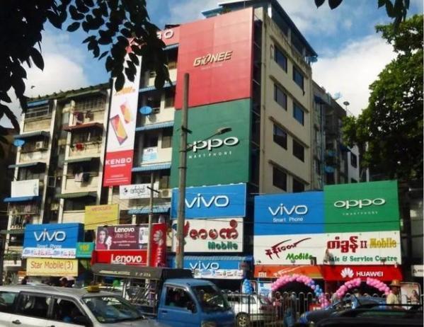 缅甸手机市场:中国品牌占4席,华为无缘前五,榜首占比31%