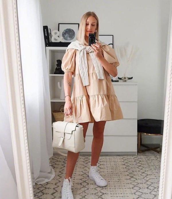衬衫裙怎么选?百搭不挑人的条纹款是首选,20-40岁女性都能穿