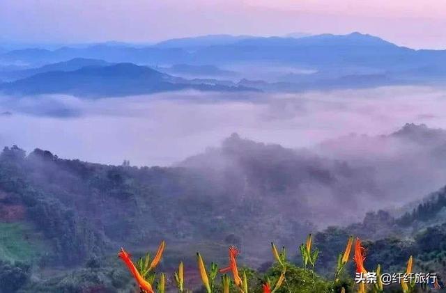 「约吗旅行」这居然是广州?云海不输黄山,是藏在梦境里的绝美容颜