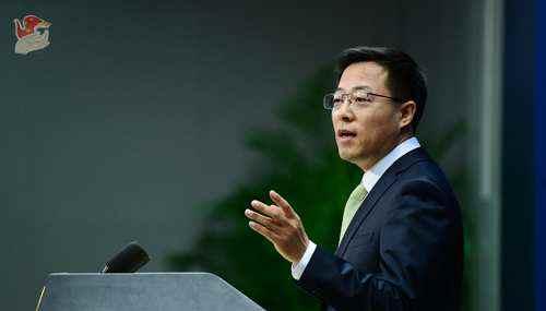 环球网蓬佩奥称中国非法获取美技术 赵立坚:惯于说谎