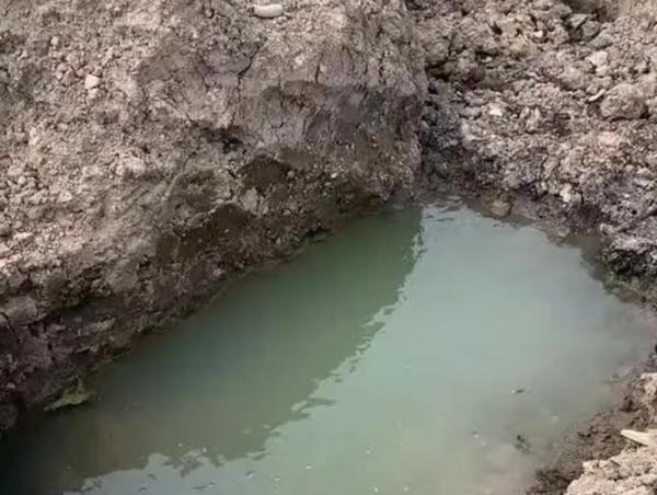 大河客户端信阳古代遗址疑遭破坏 文物局:水库水位下降露出 将进行鉴定