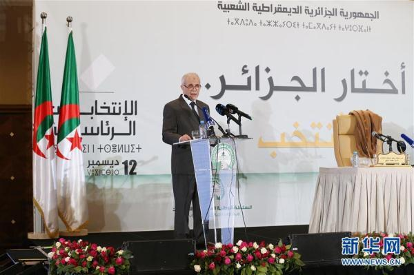 [光明网]特本在阿尔及利亚总统选举中得票收先