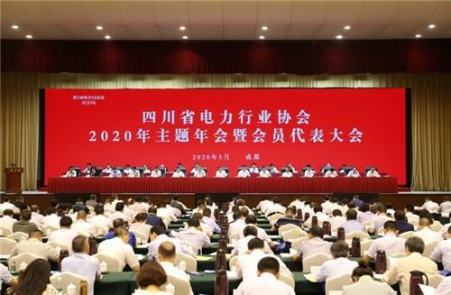 「四川在线」四川省电力行协2020年主题年会暨会员代表大会召开