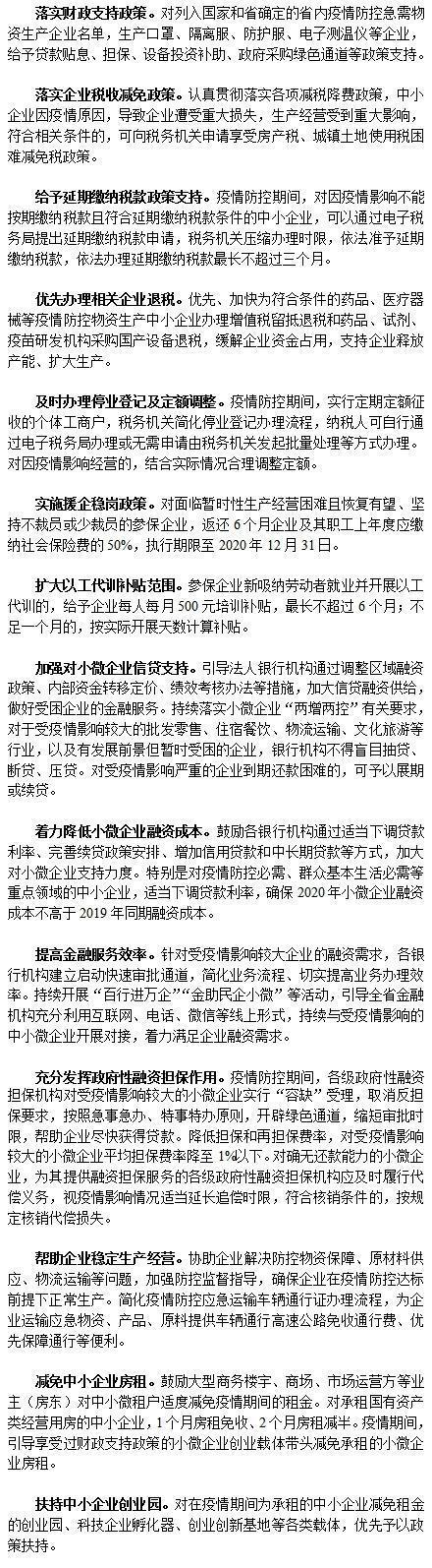「光明网」重磅14条!黑龙江中小企业无忧了