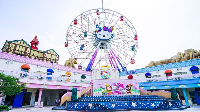 「旅行柚子君」杭州上海周边亲子游火爆的乐园 HelloKitty乐园