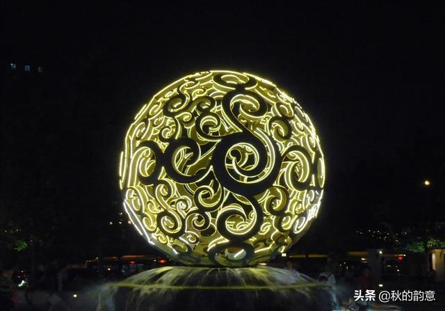 「趣旅游」北京朝阳公园,著名景点 中泰友谊亭。