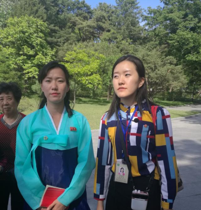 朝鲜之旅:女导游很漂亮,女交警皮肤很白