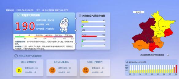 中国青年网北京多区已达严重污染级别 入夜后逐渐转好