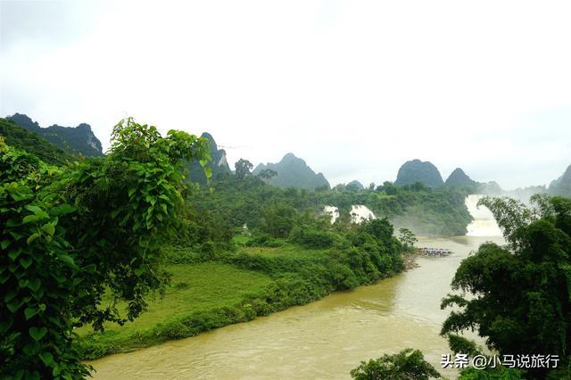 『旅行百事通』亚洲排名第一的跨国瀑布,比贵州黄果树小众,关键游客还不多