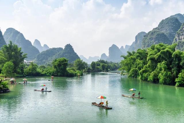 「旅行柚子君」一到春天,桂林就美成了仙境