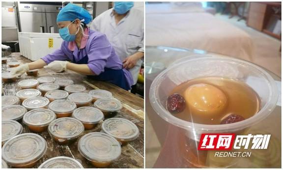 """『红网』三月三,抗疫勇士们吃到了医院送来的""""荠菜蛋"""""""