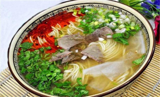 中国最讲究的四类面之——兰州牛肉面