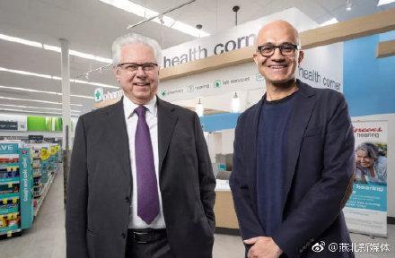 微软正在抵御亚马逊入侵医疗保健市场