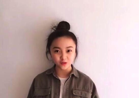 19岁林妙可近照曝光,网友却被她的下巴吓到了 第3张