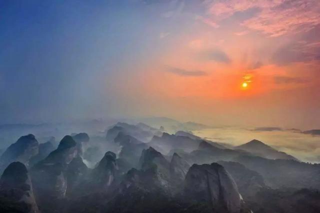 湖南被忽视的名山,舜帝造字为其命名,六大奇观称世界之最