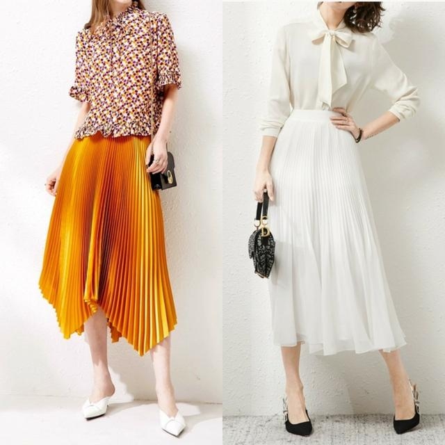入夏了只想穿裙子?适合30岁的半身裙搭配攻略,实穿又抬气质