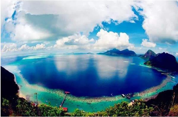 """马来西亚""""神秘""""天堂,漂浮大海上,迅速成为世界旅游胜地"""