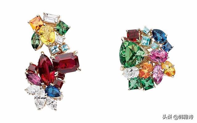 Dior迪奥高级珠宝系列:宝石万花筒,彩色宝石