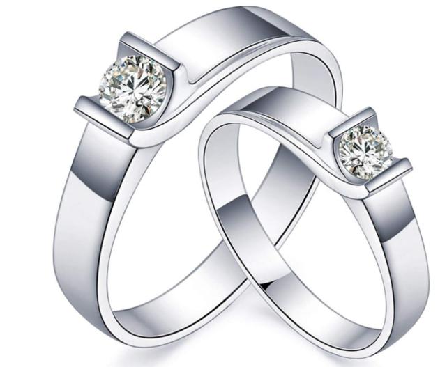 情侣戒指,深深爱意,梦幻般的感觉